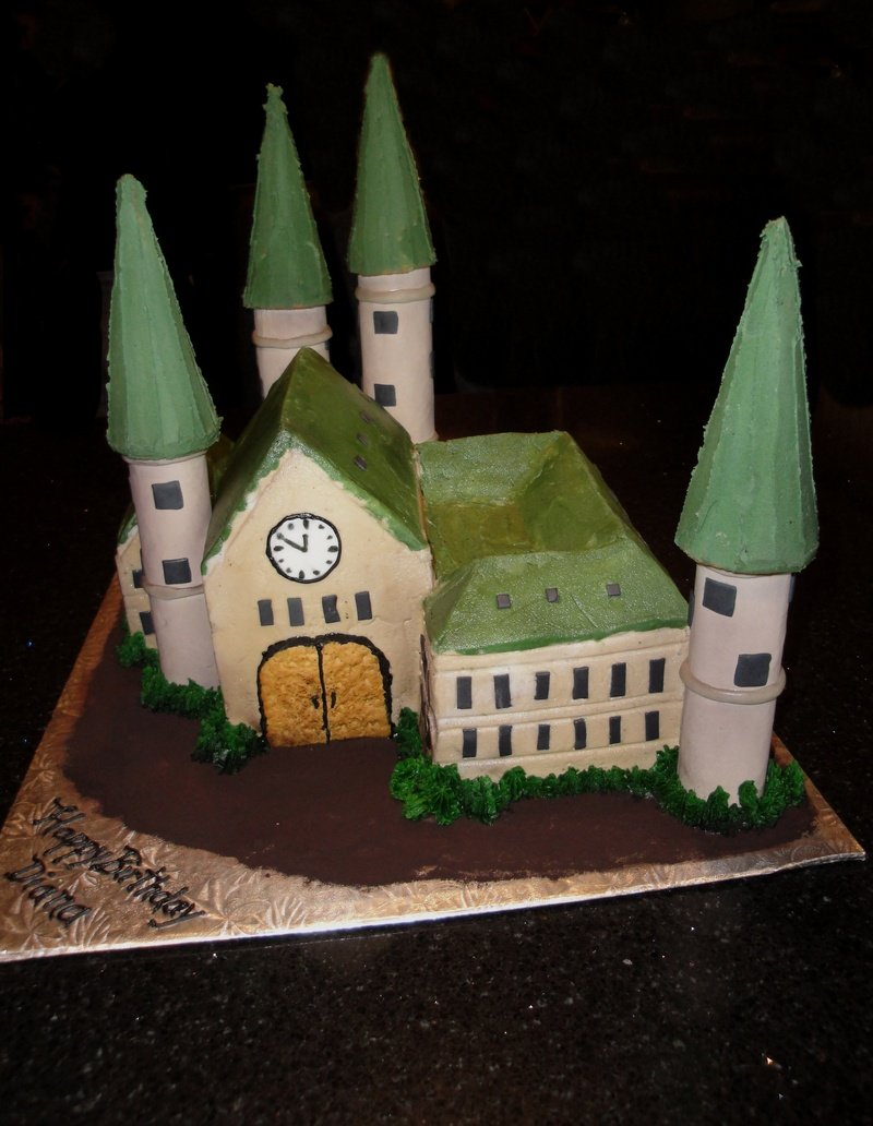 Castle Cake - Harry Potteresk
