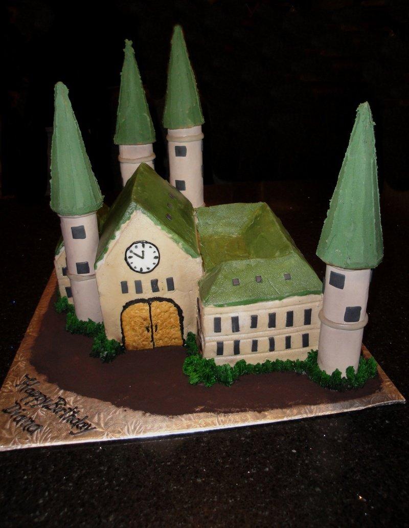 Castle Cake - Harry Potteresk