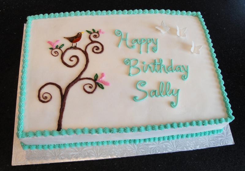 Butterflies & Robin's Egg Blue Birthday Theme