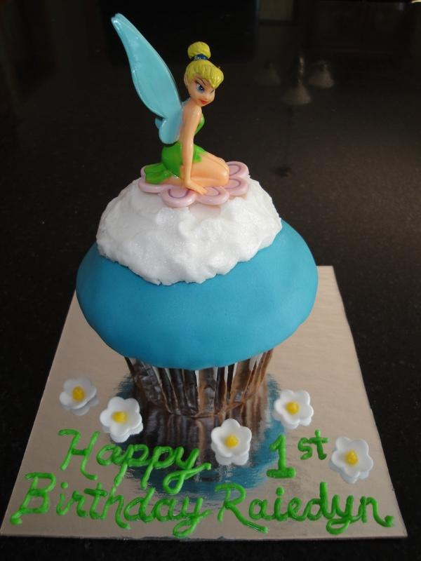 1st Birthday Tinkerbell for Raiedyn