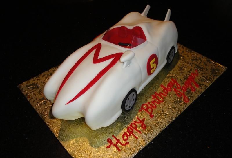 3D Speed Racer Car Cake