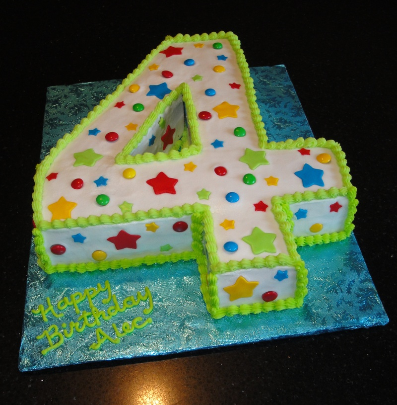 Number 4 Birthday Cake Template http://www.sayitwithcake.ca/apps/photos/photo?photoid=89364020