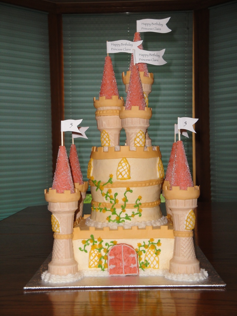 3 Tiered Belle's Princess Castle for Claire