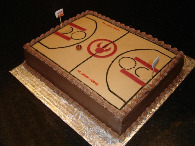 Toronto Raptors ACC Theme Cake