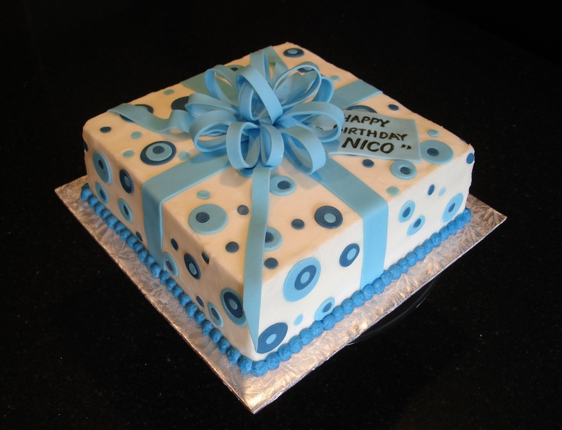 Nico's Birthday Present Cake
