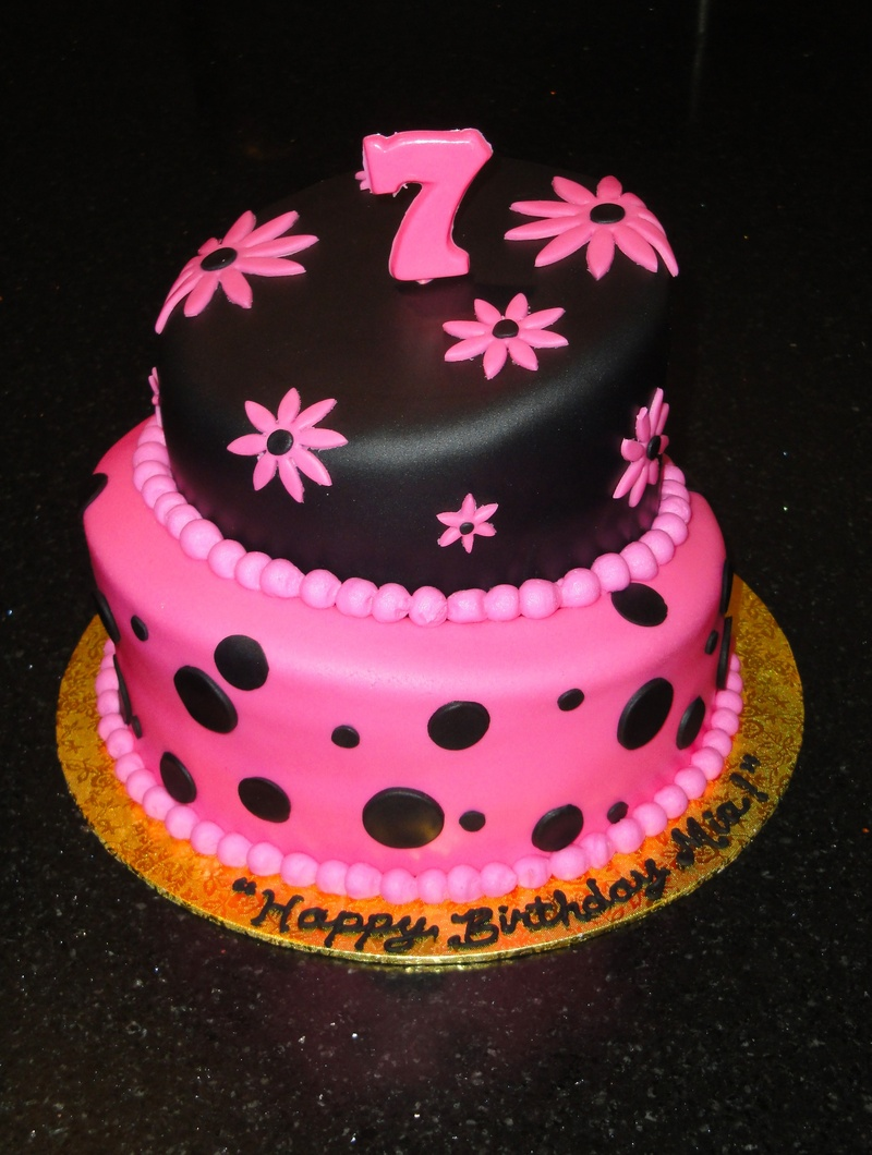 Cake Design For 7th Birthday Girl : Photo Galleries