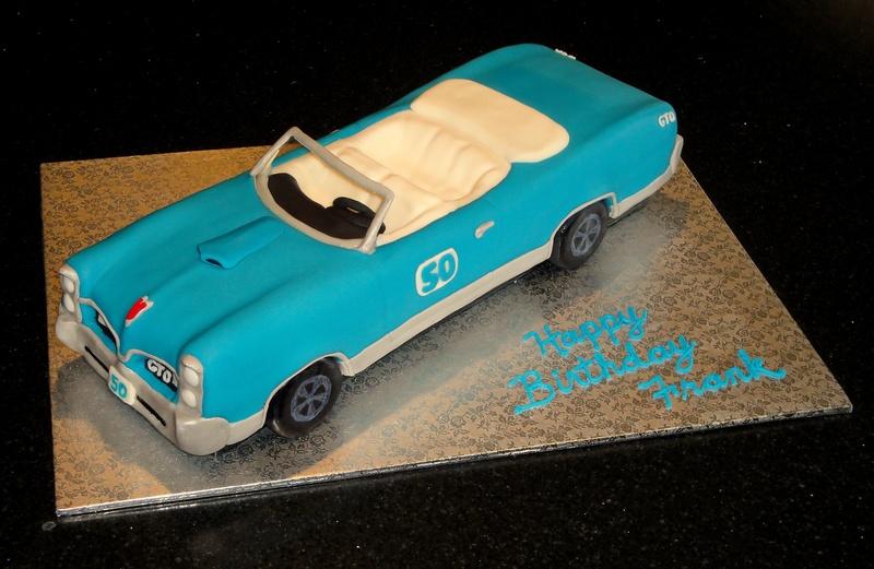 1967 GTO Convertible Car Cake