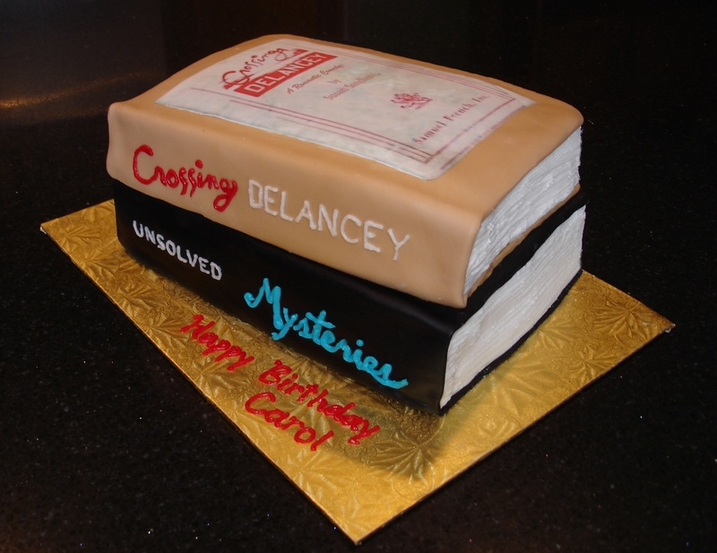 3D Librarian's Birthday Cake