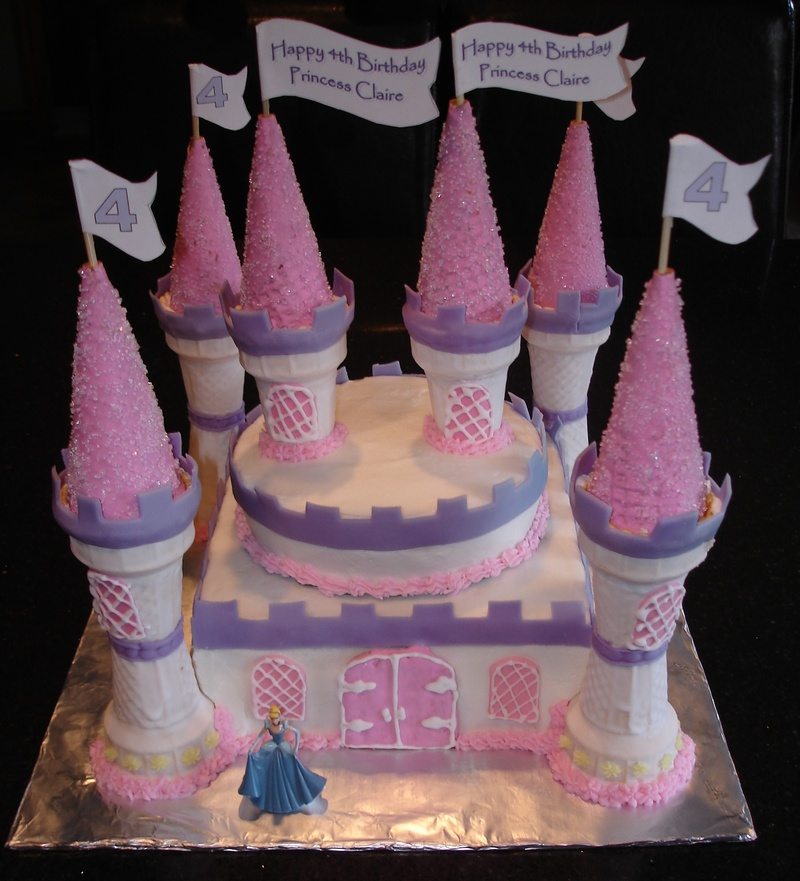 Princess Castle Cake for  Claire