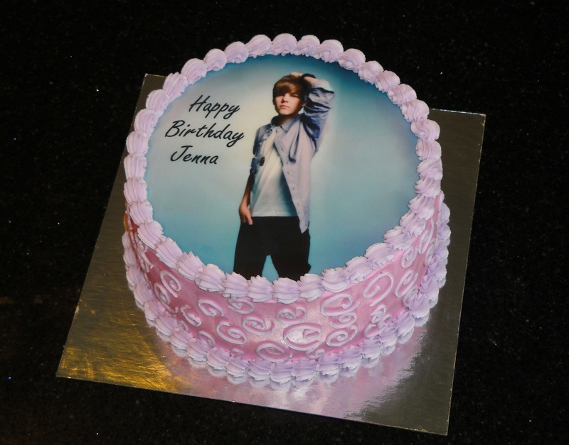 Justin B Birthday Cake