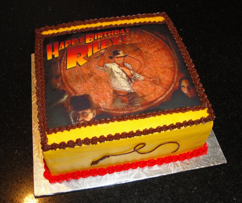 Riley's Indiana Jones Bday Cake