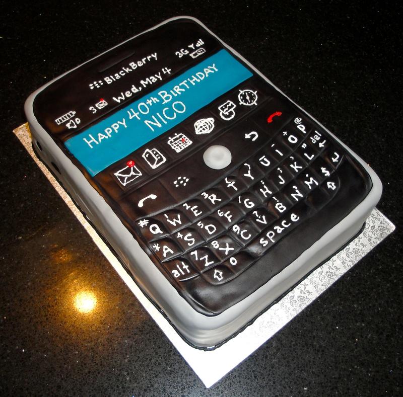 3D Blackberry Cake