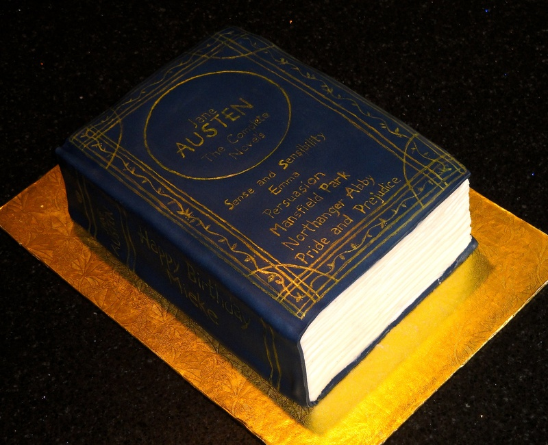 Jane Austen Birthday Cake