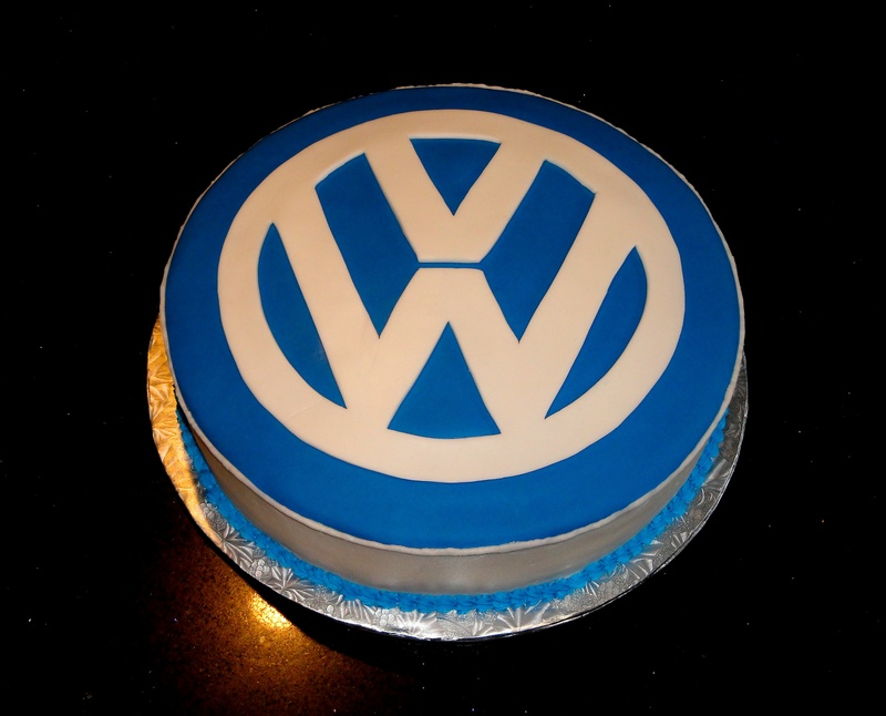 Volkswagen Themed Cake