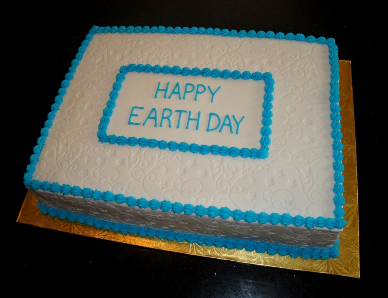 Earth Day Celebration Cake
