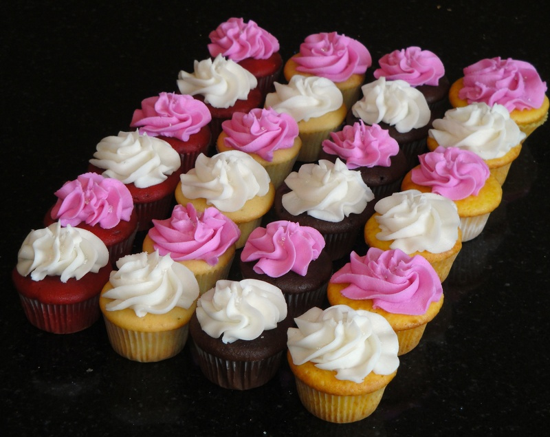 Birthday Mini Cupcakes