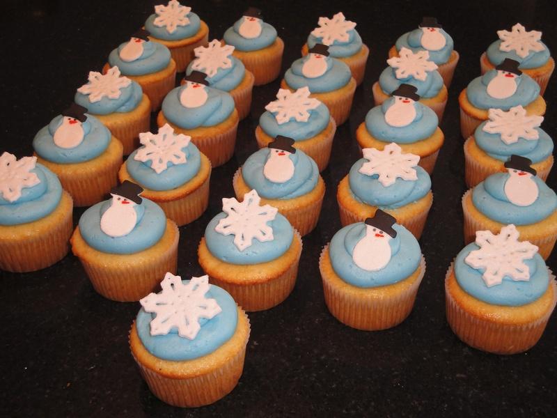 Winter Wonderland Xmas Party Cupcakes