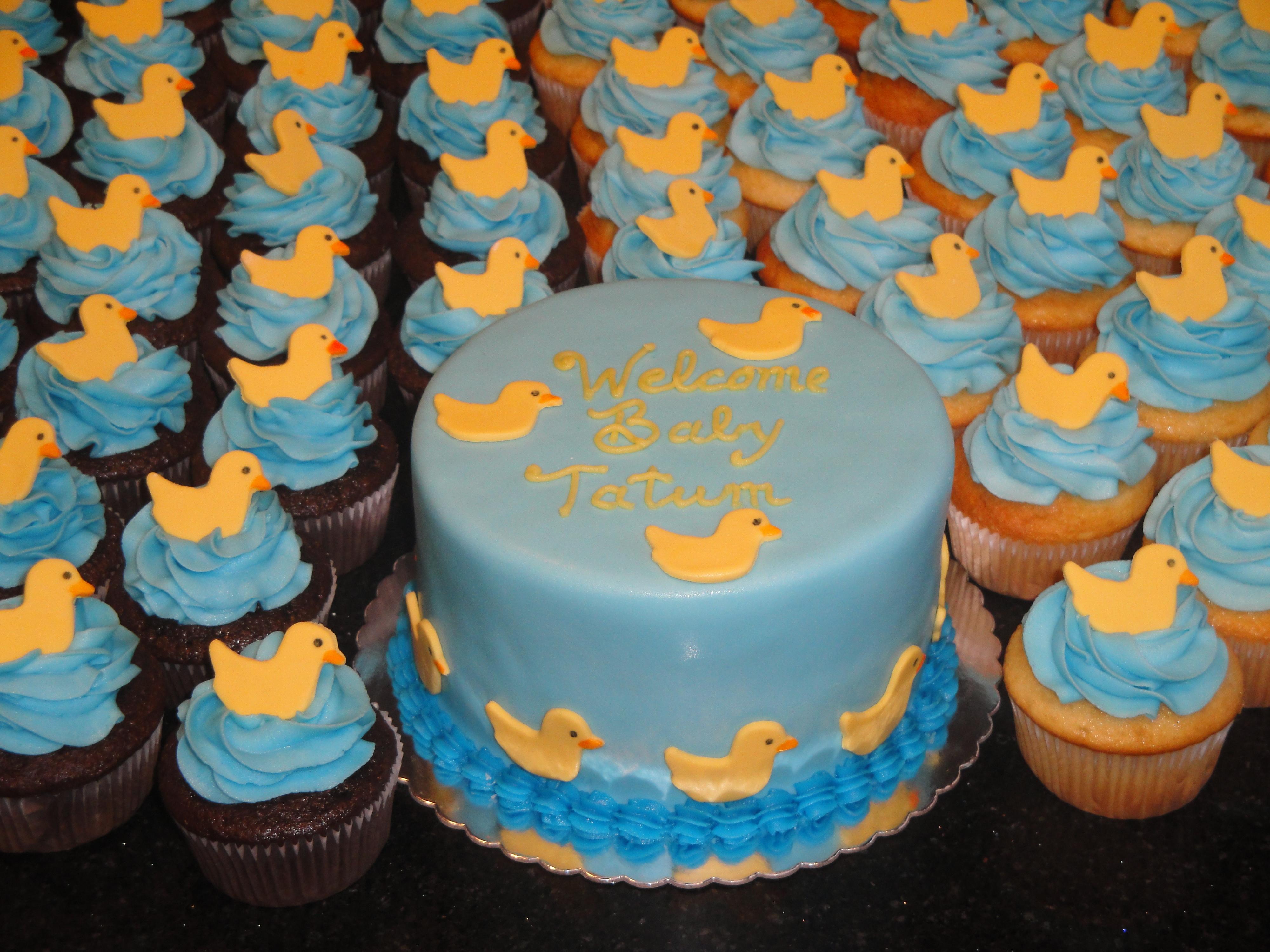 Yellow Ducky Theme Baby Shower