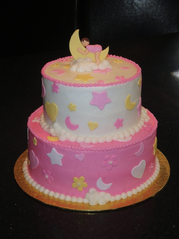Baby Shower Sweet Dreams Cake