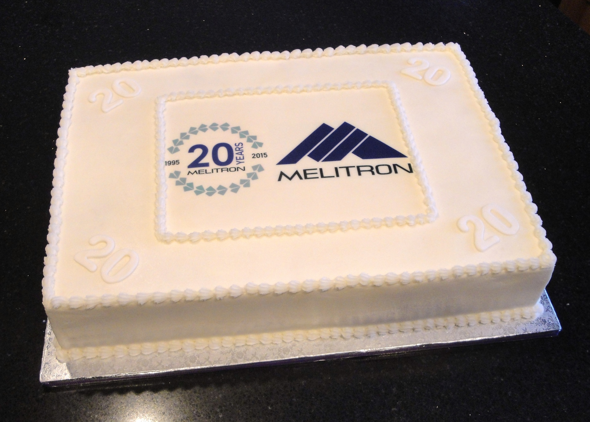 Melitron 20th Year Anniversary Cake