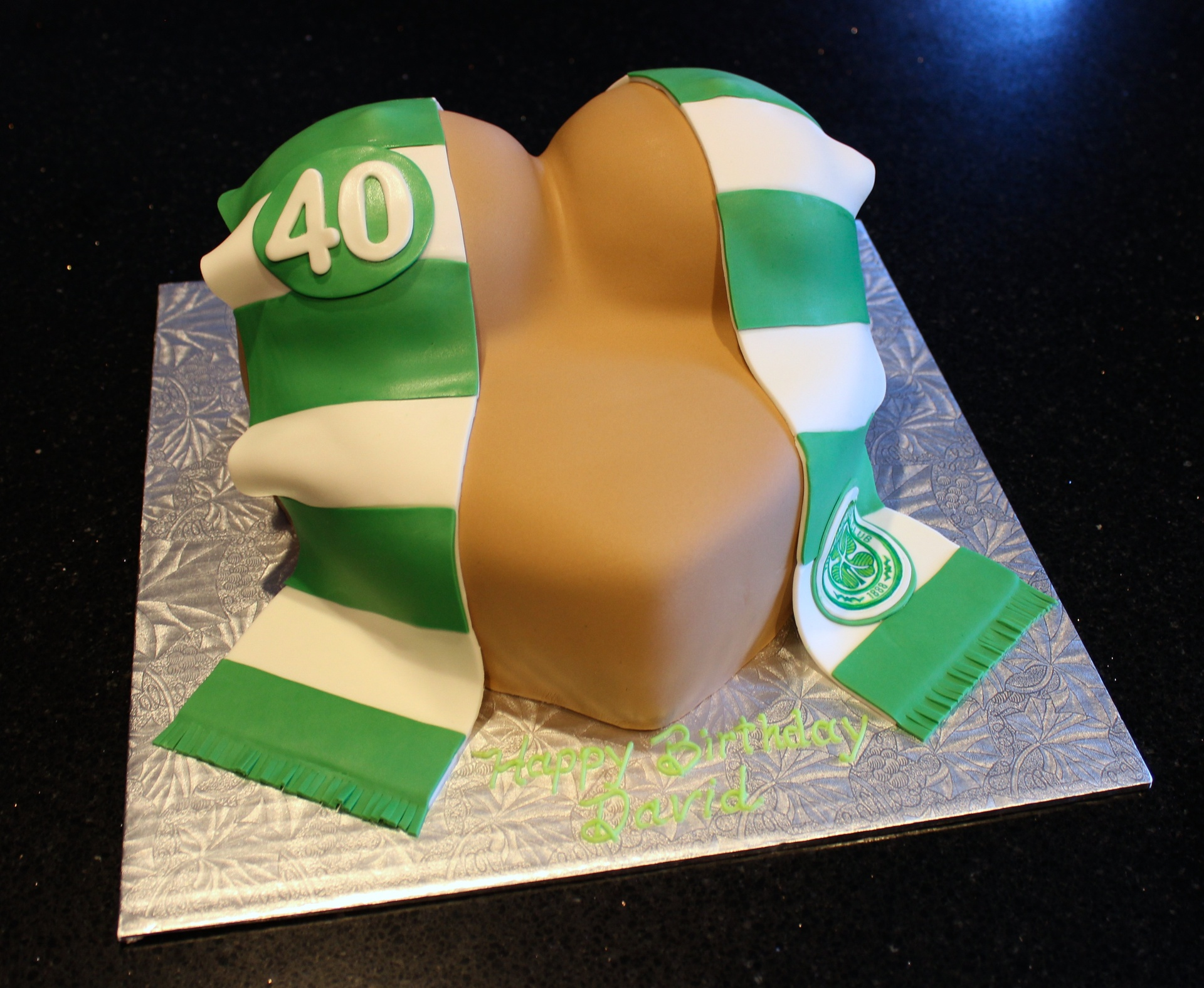 3D Boobie Cake