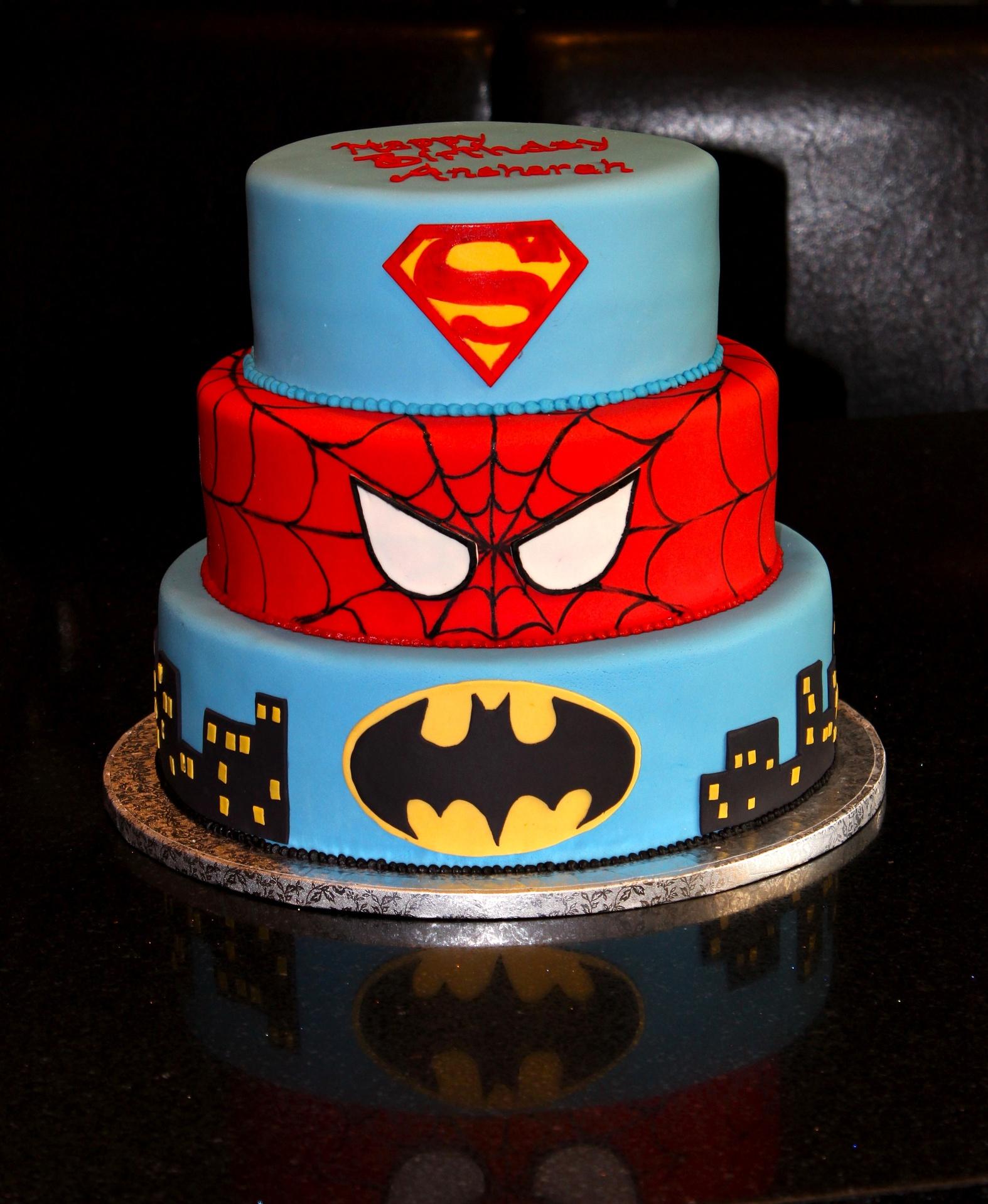 Spider Cake Design