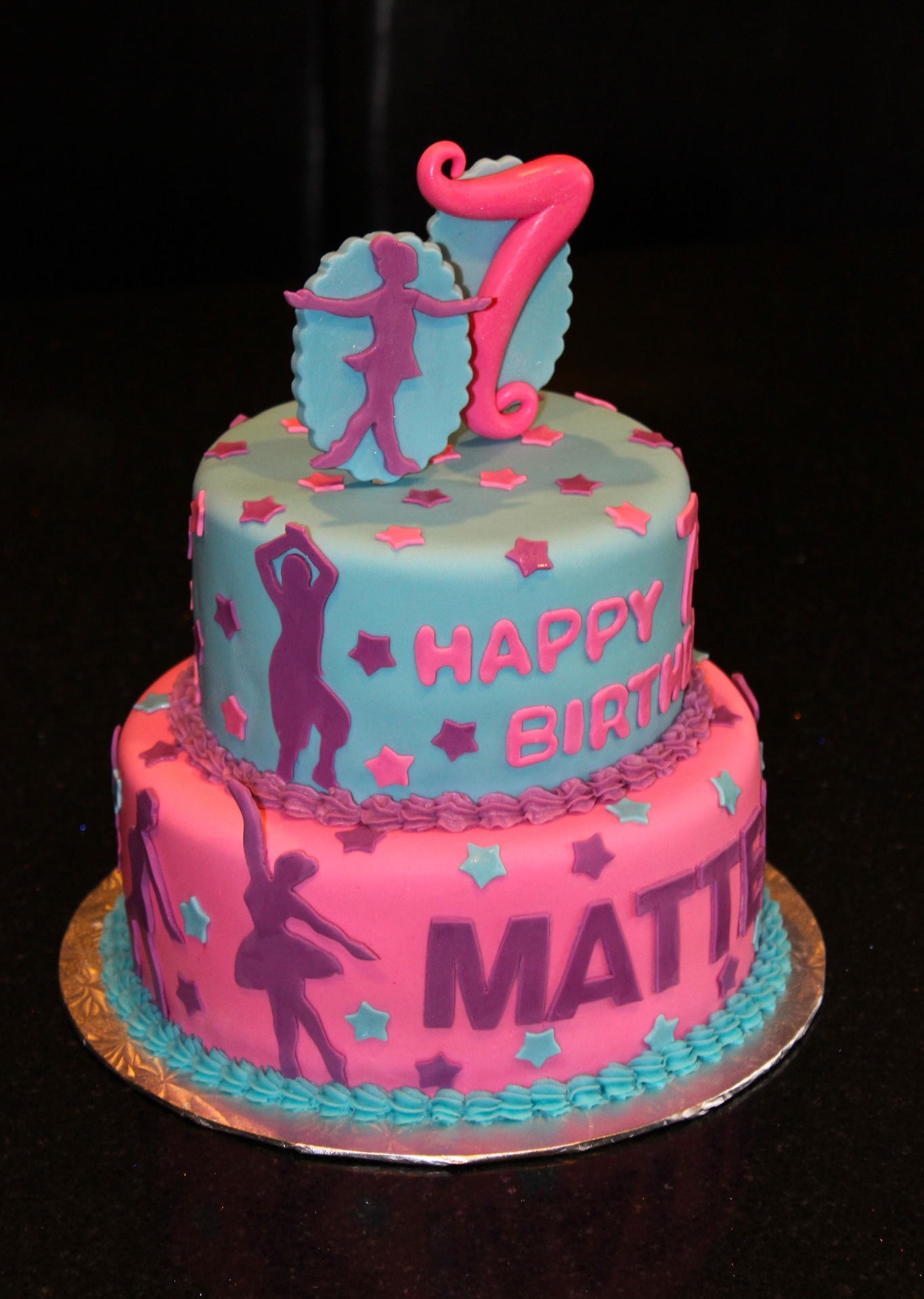 Jazz Dancer Birthday Cake Images
