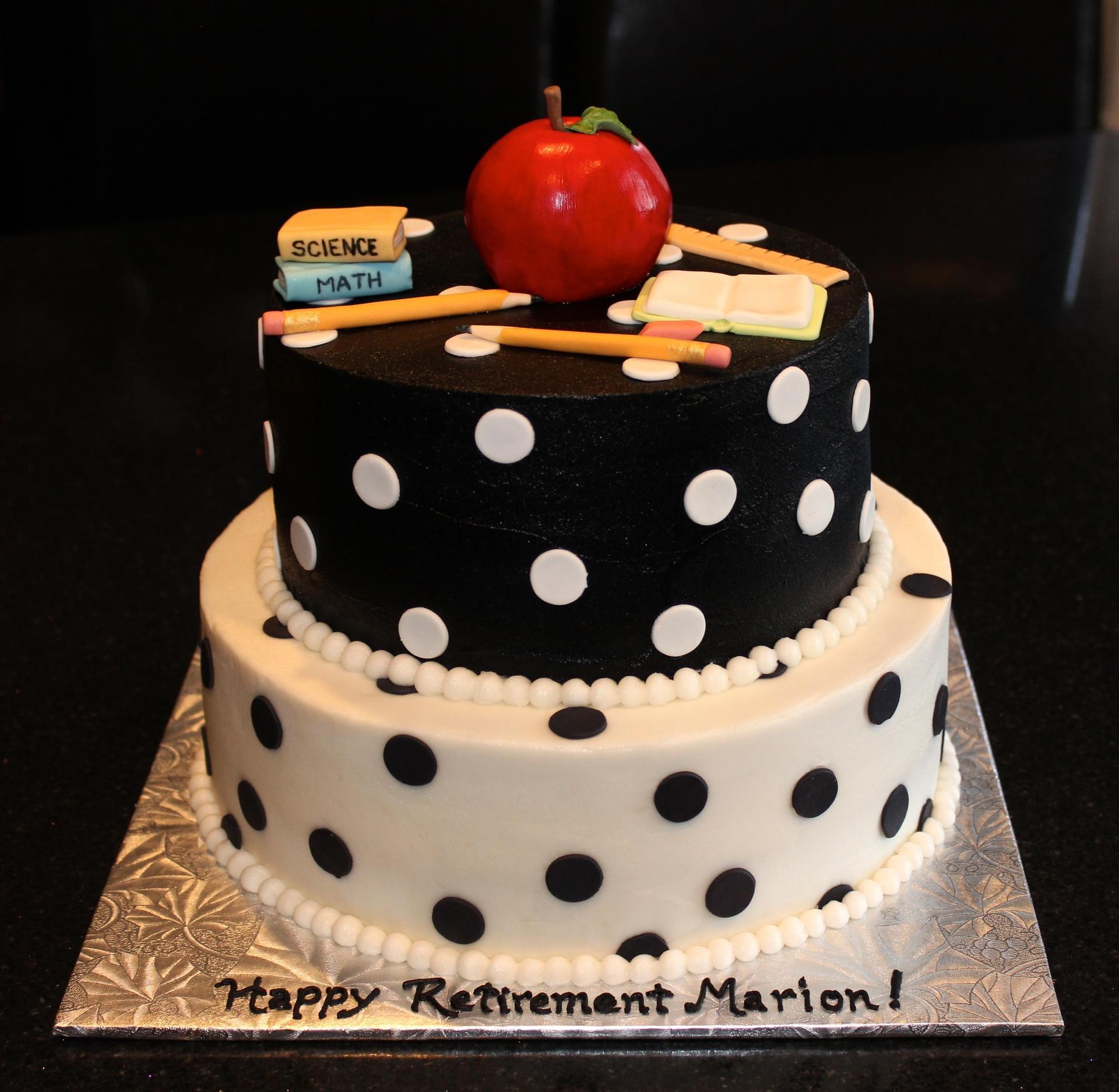 Teacher's Retirement Cake