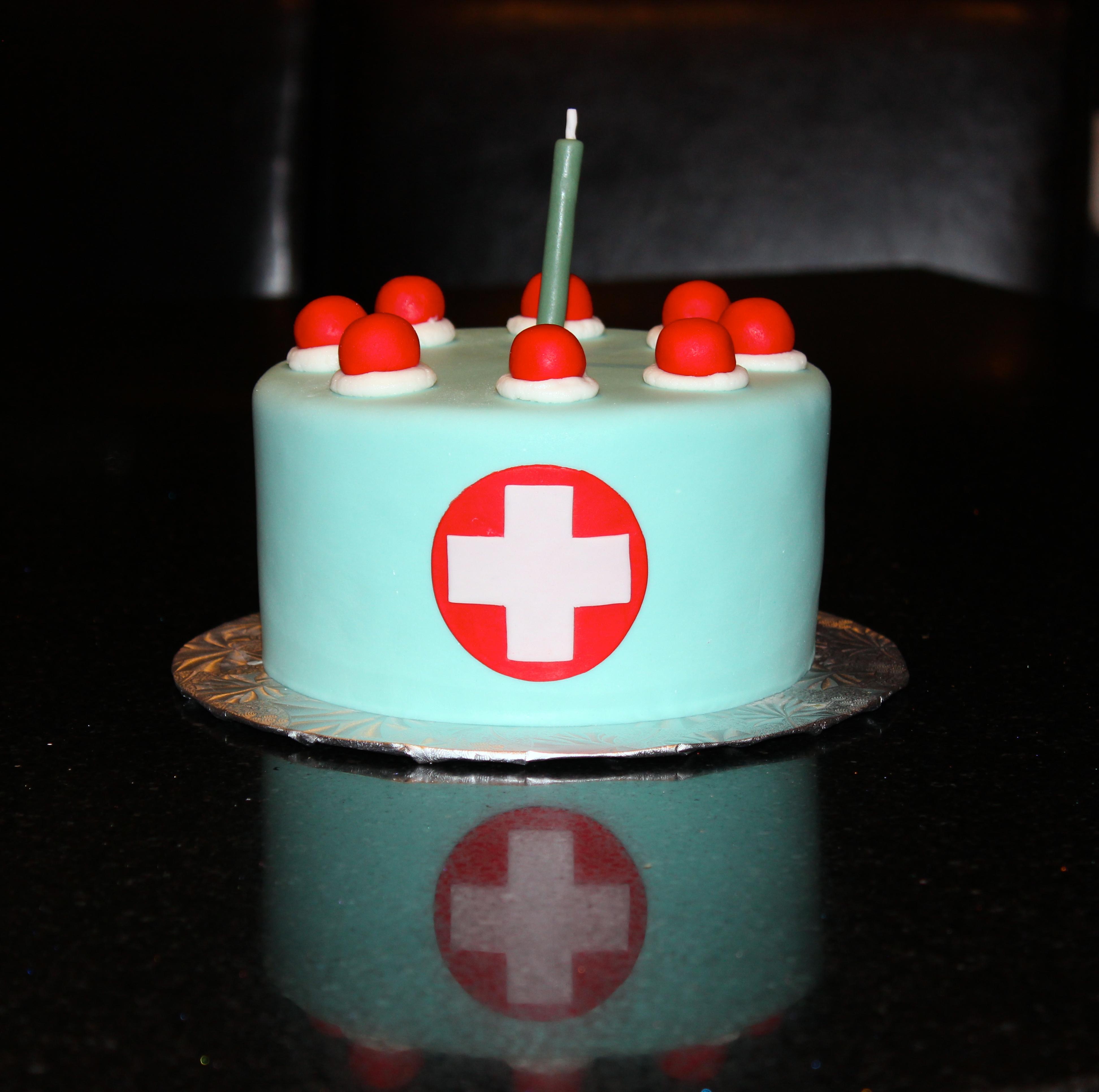 TF2 Birthday Cake