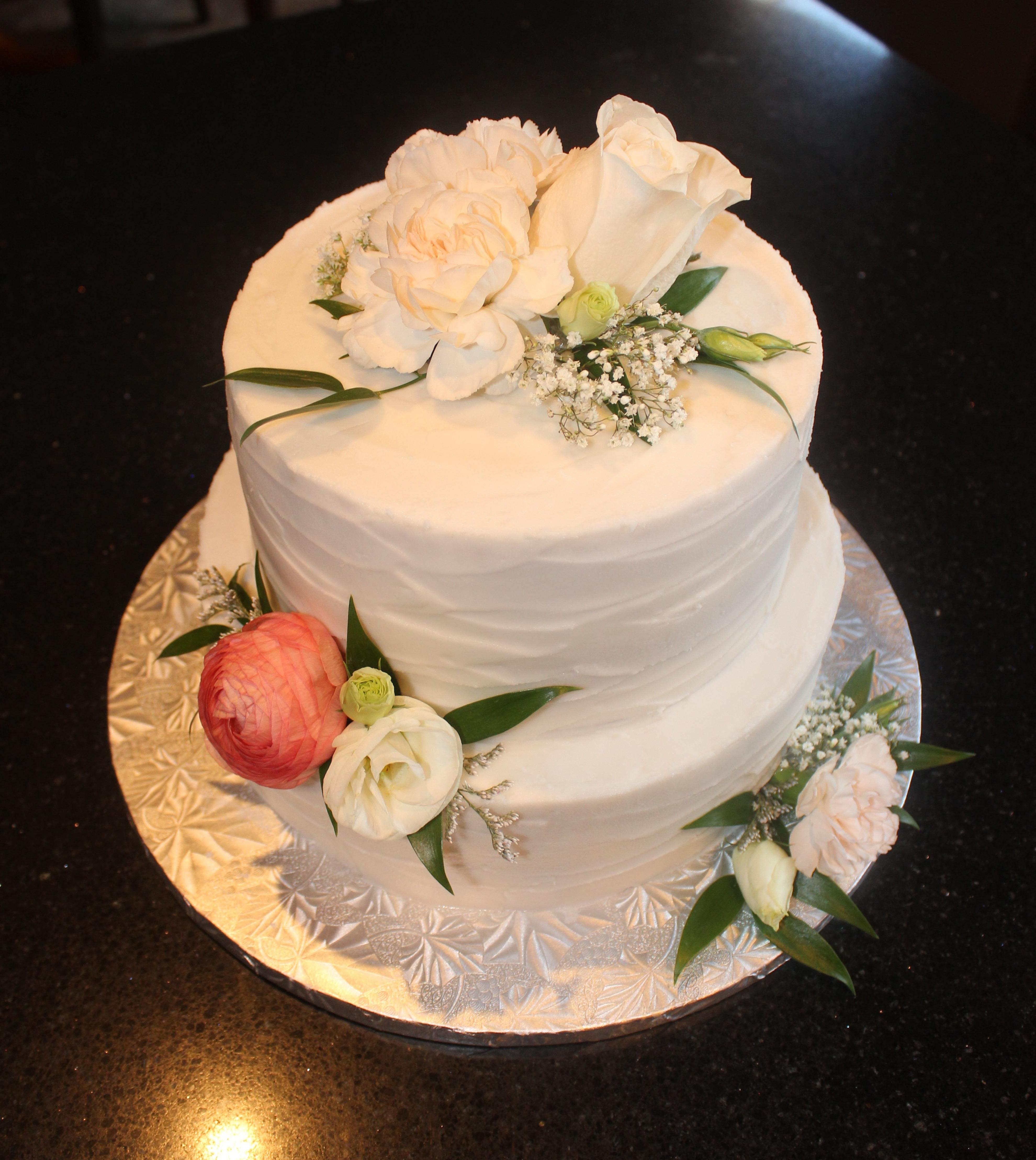 Wedding Cake for Chrisy & Liam