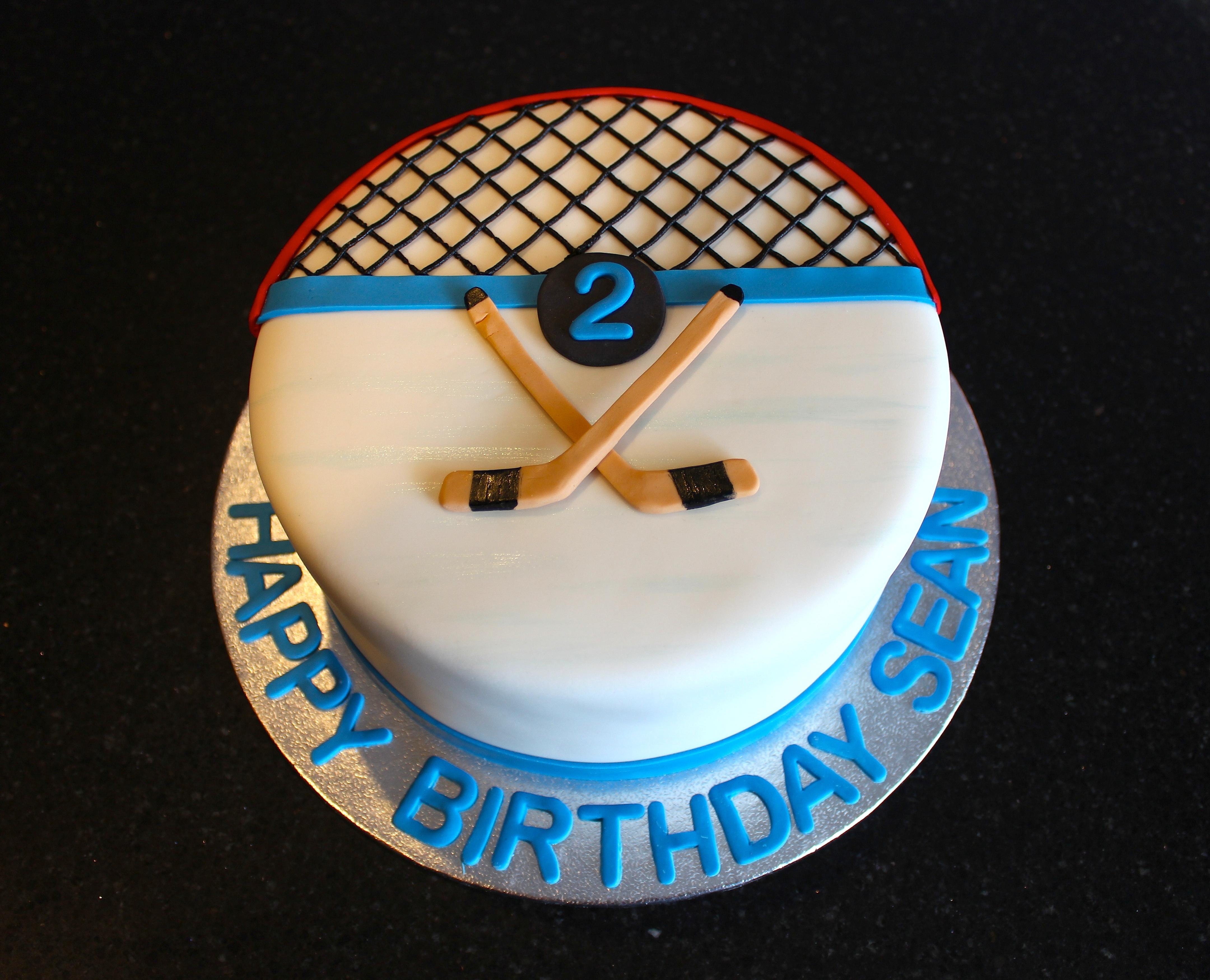 Hockey Theme 2nd Birthday for Sean