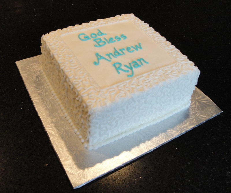 Baptism/Christening Cake