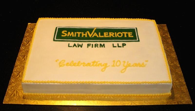 Corporate Cake - Celebrating 10 Years