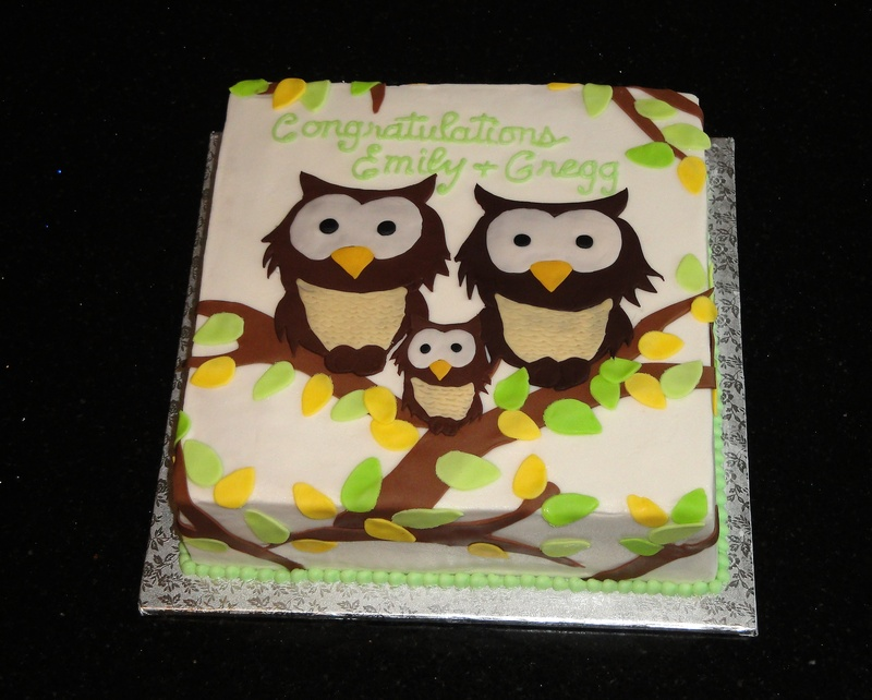 Family of Owls Baby Shower