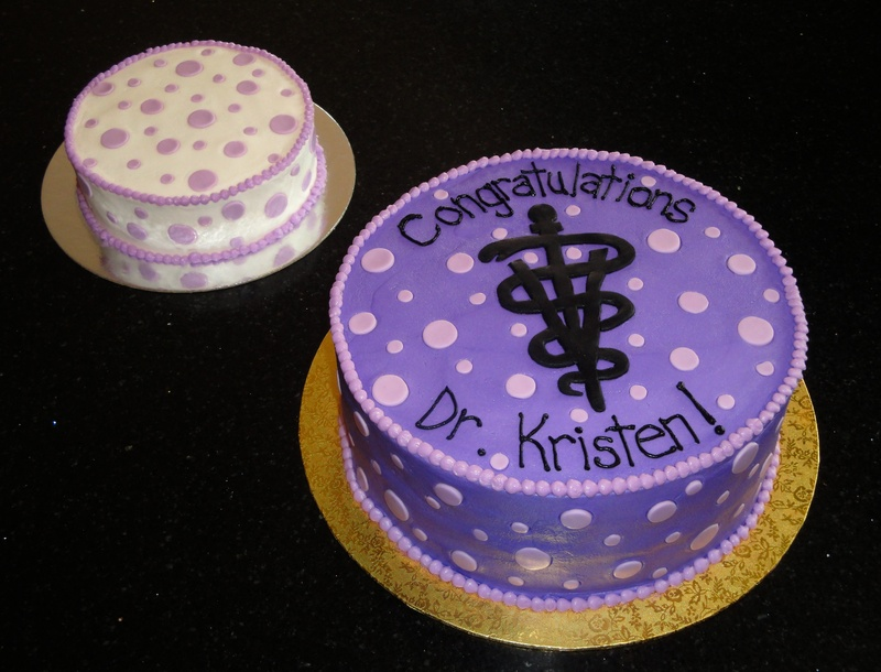 OVC Graduation Cake & Mini Cake