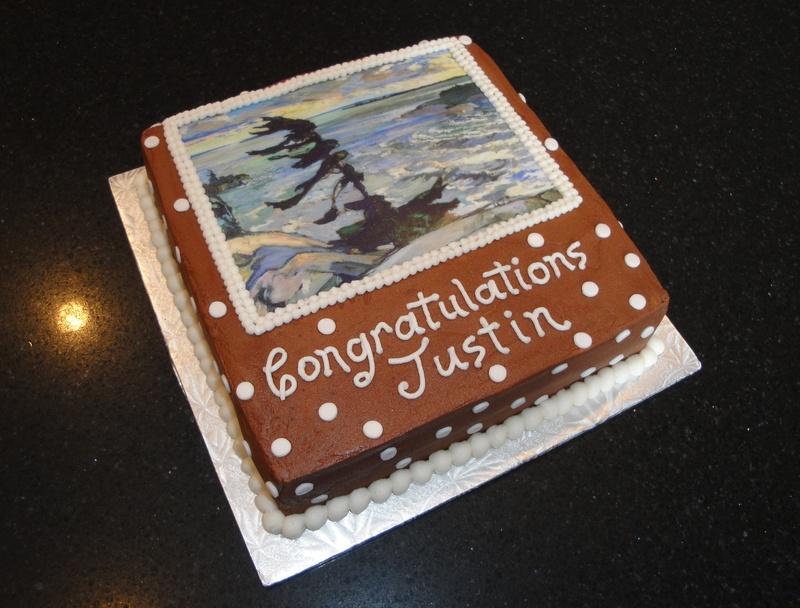University Graduation Celebration Cake