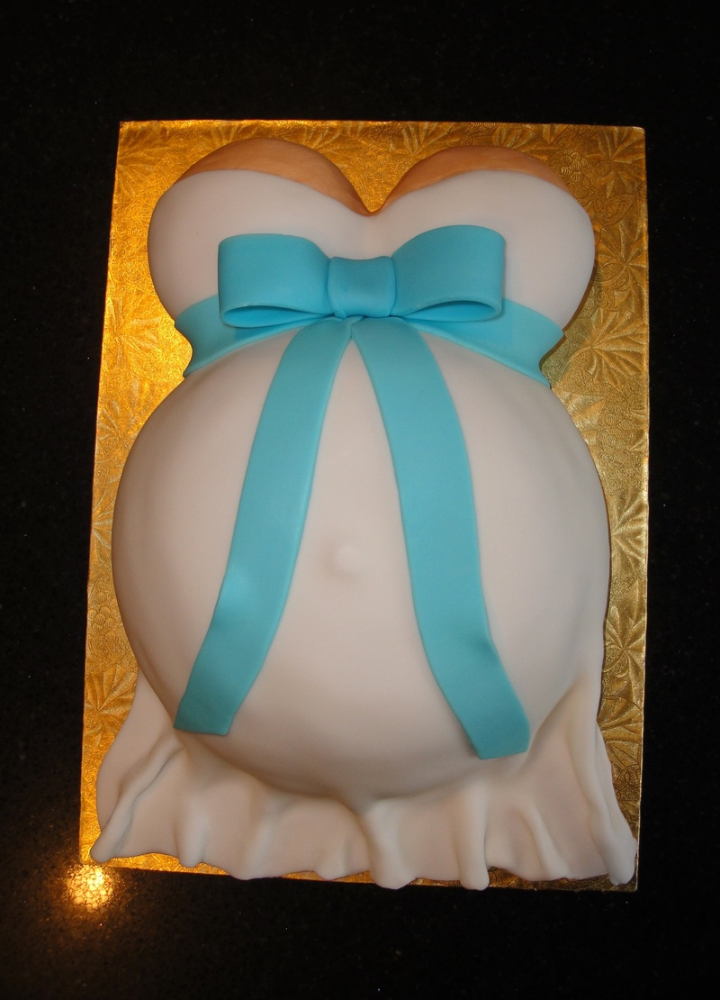 Baby Shower - Baby Bump /  Mommy Tummy Cake