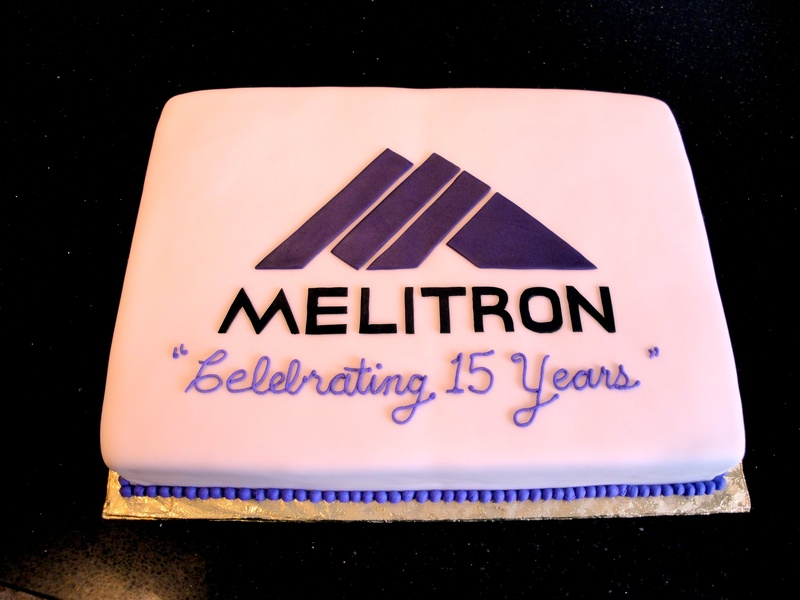 Melitron 15th Anniversary Celebration Cake