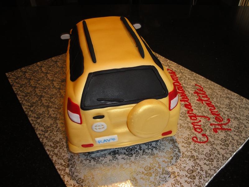 Toyota RAV4   3D cake