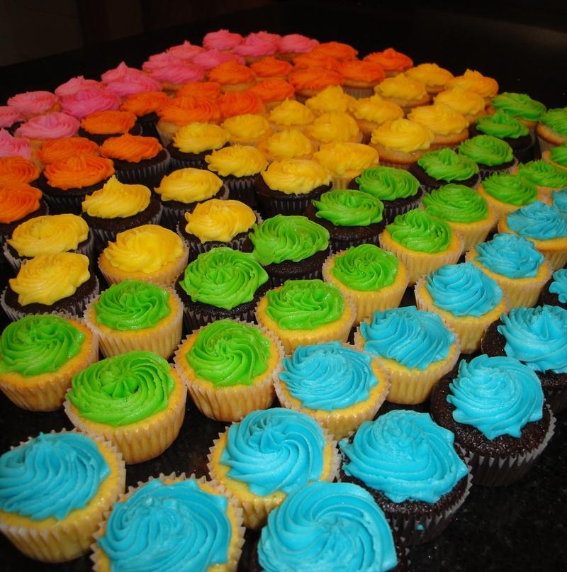 Art Exhibit Mini Cupcakes