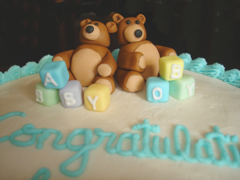 Baby Shower Teddy Bears