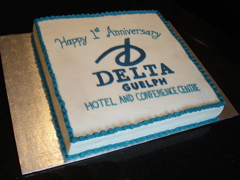 Delta Guelph 1st Anniversary Cake