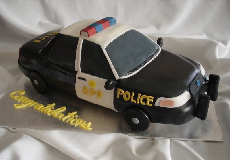 OPP Cruiser 3D Congratulations Car Cake