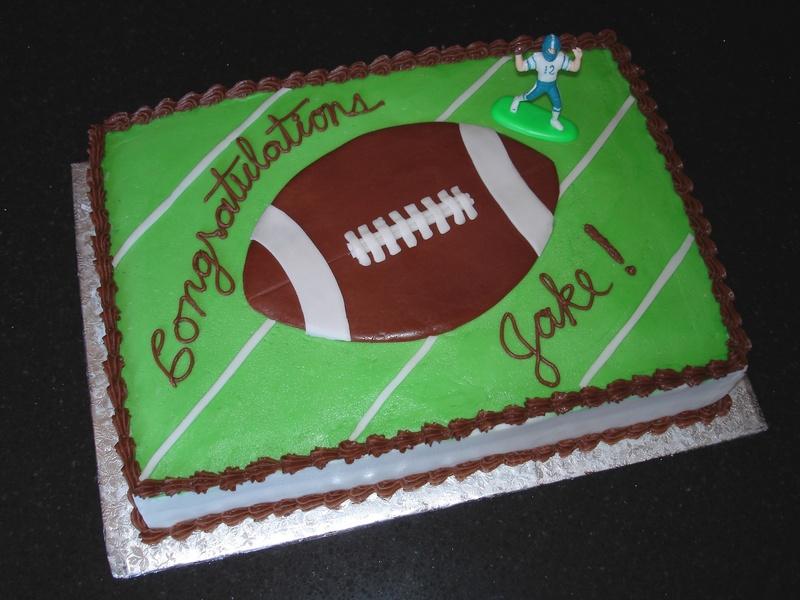 Grade 8 Graduation Football Theme
