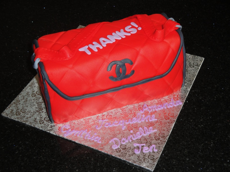 Chanel Designer Purse cake