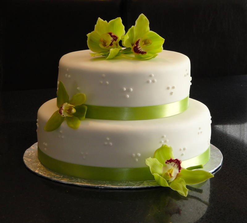 triple swiss dot wedding cake photo galleries 21270