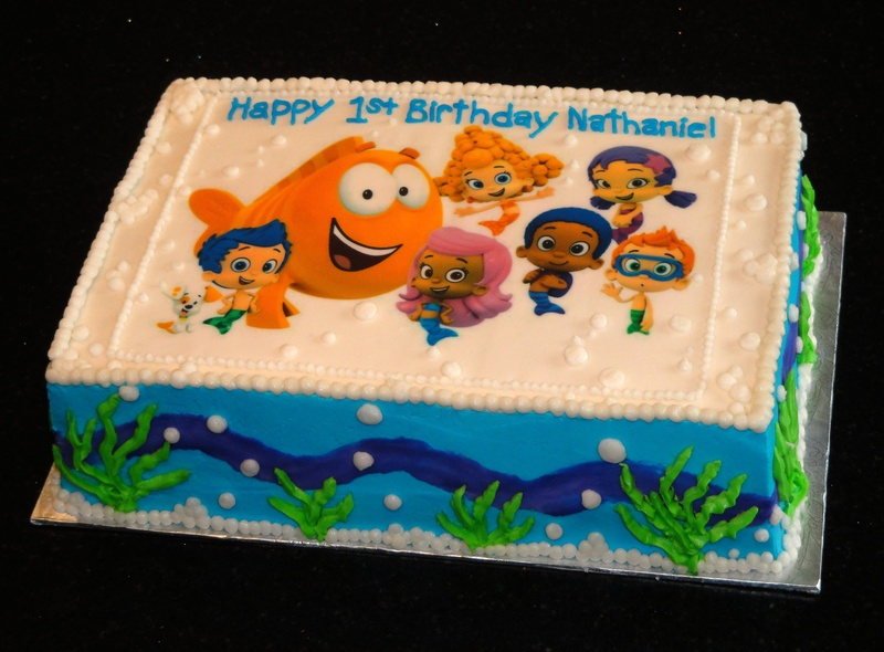 Bubble Guppies Birthday Cake Ideas