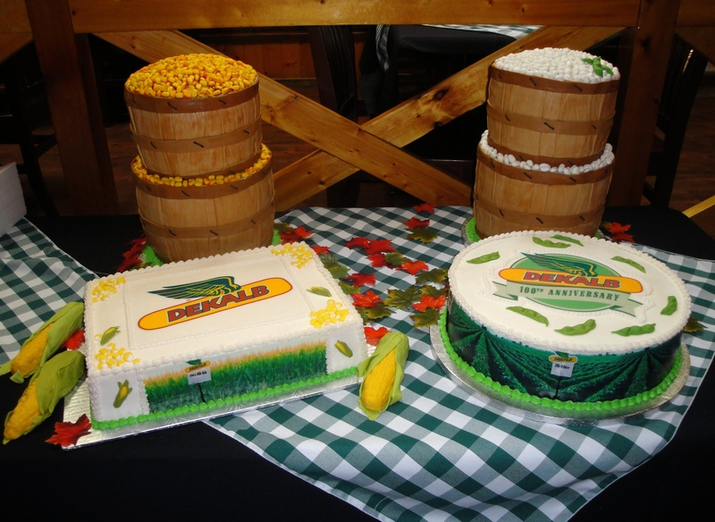 DEKALB 100th Anniversary 3D Cakes
