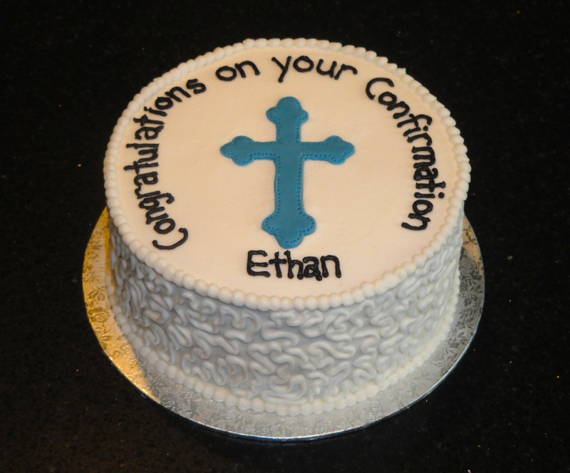 Confirmation Cake for Ethan
