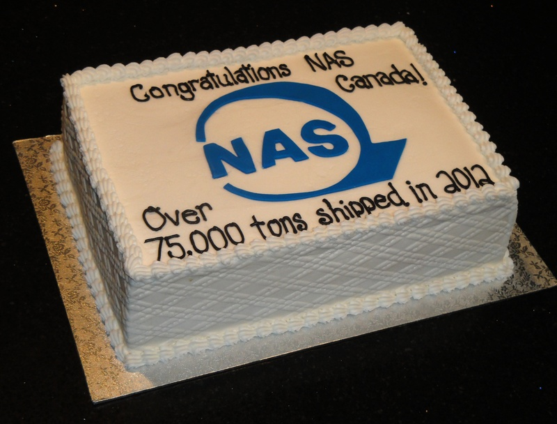NAS Canada Congratulations Cake